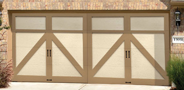 Costa Mesa Wayne Dalton Carriage House Garage Doors Model 8024