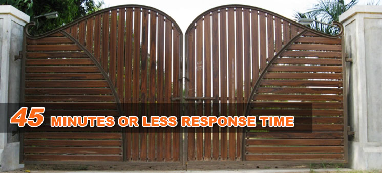 Fixed Slide Gate Costa Mesa