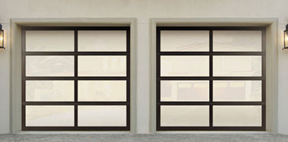 Wayne Dalton 8850 Garage Door Aluminum Model Irvine
