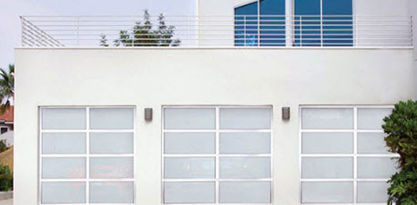 Wayne Dalton Model 8800 Aluminum Garage Door Costa Mesa