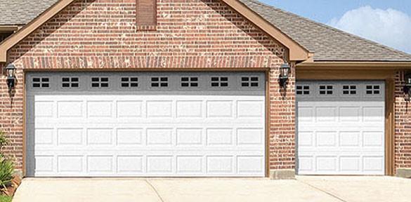 Modell 8024 Steel Garage Door Wayne Dalton Orange