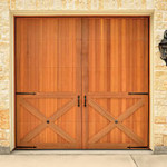 Orange County California Wood Garage Door