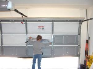 Orange County Garage Door Panel Broken