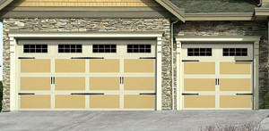 California Carriage Style Garage Door Orange County