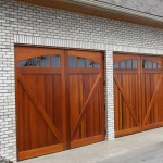 Wood Garage Door Orange County California