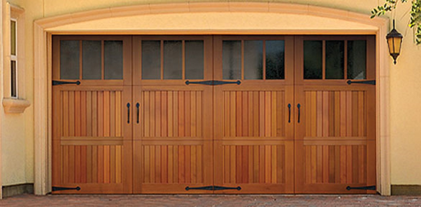 Mission Viejo California Wood Garage Door